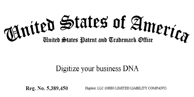 Digitize your business DNA Trademark Registration