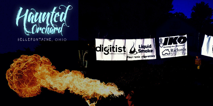 Halloween is upon us! Digitist is one of 8 platinum sponsors for the Haunted Orchard